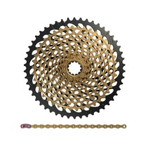 XX1 Eagle wear set XG-1299 cassette + PC XX1 Eagle chain 12-speed