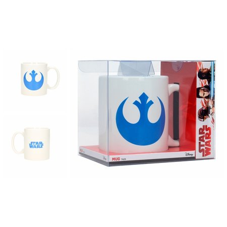 PICKLE Star Wars The Last Jedi: Rebel Symbol and Logo White Mug