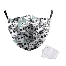 Adult unisex  Face Mask - The Nightmare Before Christmas