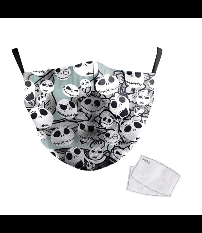 DG Masque facial adulte unisexe - Masque lavable et réutilisable