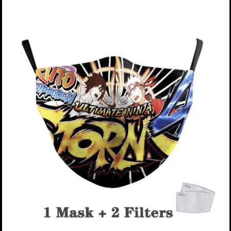 DG Adult unisex  Face Mask - Ultimate Ninja