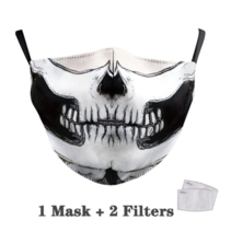 Adult unisex  Face Mask - Skull
