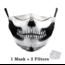 DG Adult unisex  Face Mask - Skull