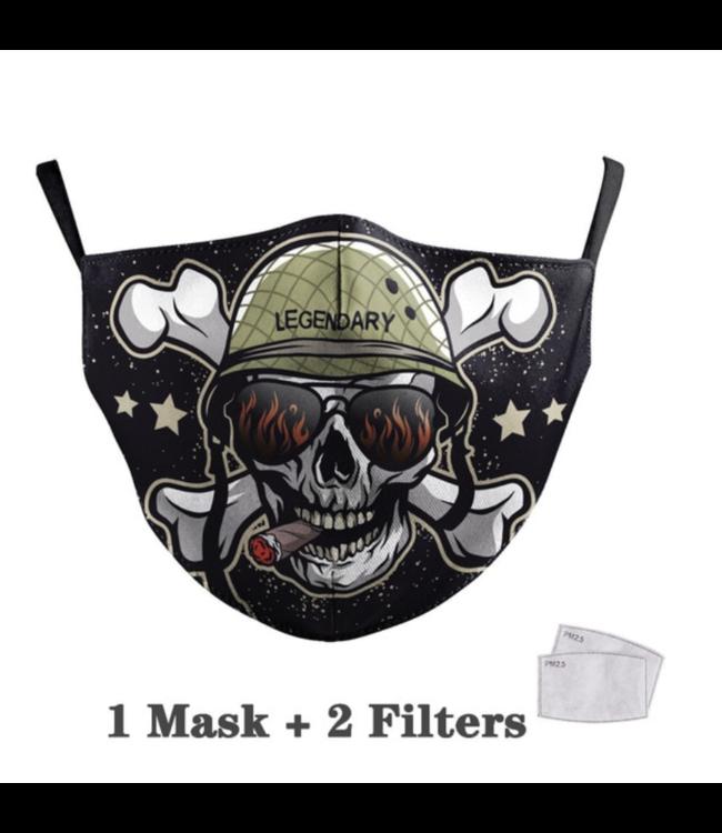 DG Adult unisex  Face Mask - Legendary