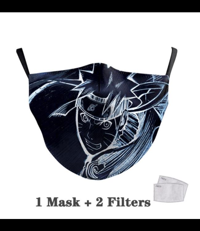 DG Adult unisex  Face Mask - Naruto Style