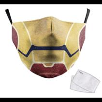 Adult unisex  Face Mask - Iron Man
