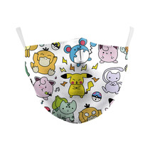Adult unisex  Face Mask - Pokemon