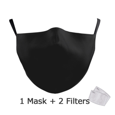 DG Adult unisex  Face Mask - I'm Black