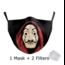 DG Adult unisex  Face Mask -La casa de papel