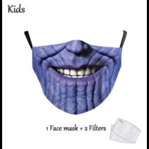Gesichtsmaske für KINDER - Thanos