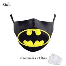 Gesichtsmaske für KINDER - Batman