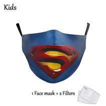 Gesichtsmaske für KINDER - Superman