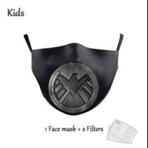 Gesichtsmaske für KINDER - Captain America Heroes