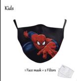DG Enfants Face Mask - Masque lavable et réutilisable - Kids Spiderman