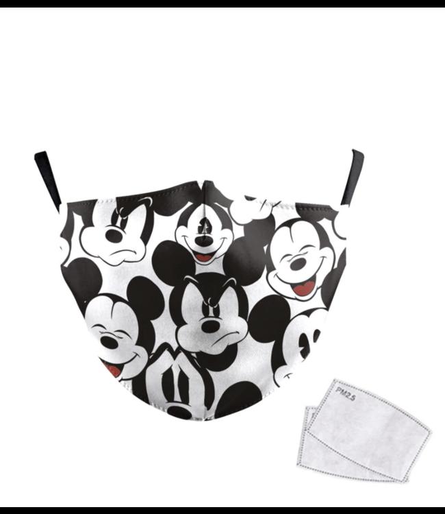 DG Gesichtsmaske für Kinder - Waschbare, wiederverwendbare Maske - Kids Mouse