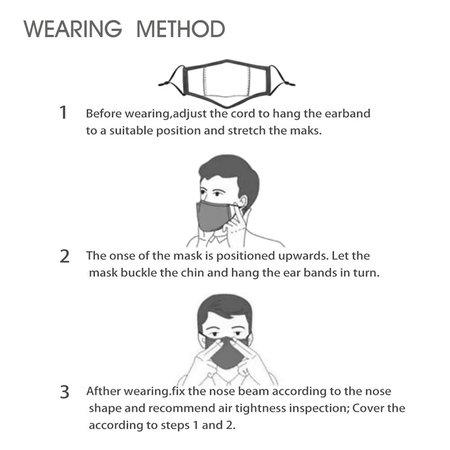 DG Unisex-Gesichtsmaske für Erwachsene - Vader