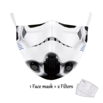 Adult unisex  Face Mask - Trooper