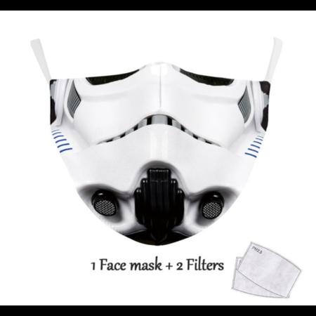 DG Unisex-Gesichtsmaske für Erwachsene - Trooper