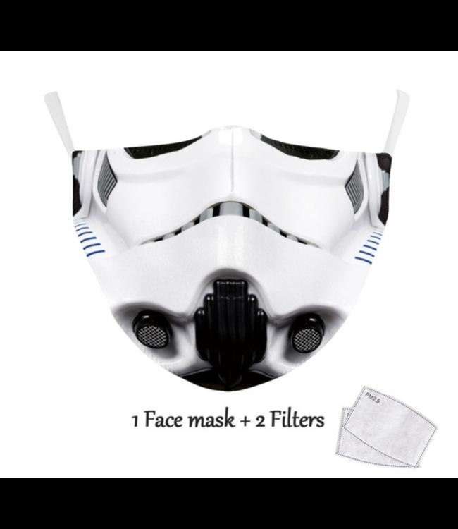 DG Adult unisex  Face Mask - Trooper
