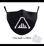 DG Unisex-Gesichtsmaske für Erwachsene - SWars