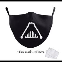 Masque facial adulte unisexe - Masque lavable et réutilisable - SWars