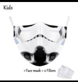 DG Gesichtsmaske für Kinder - Waschbare, wiederverwendbare Maske - Trooper