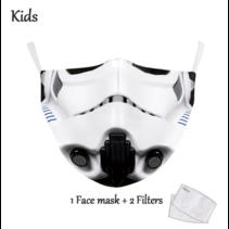 Gesichtsmaske für KINDER - Trooper