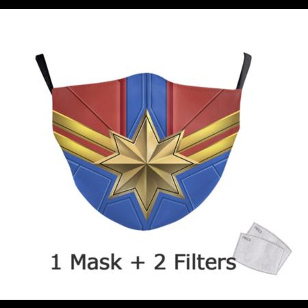 DG Enfants Face Mask - Masque lavable et réutilisable - Wonder Women