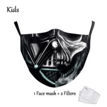 Gesichtsmaske für KINDER - Vader Skull