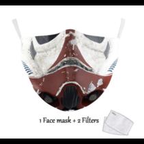 Masque facial adulte unisexe - Masque lavable et réutilisable - S Trooper