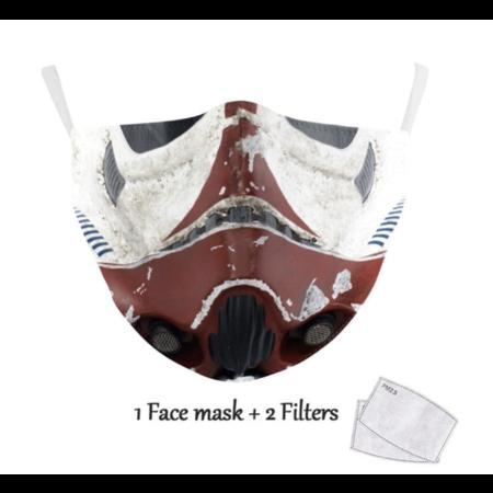 DG Adult unisex  Face Mask - S Trooper