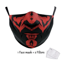 Adult unisex  Face Mask - S Darth