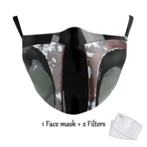 Adult unisex  Face Mask - Jango Fett