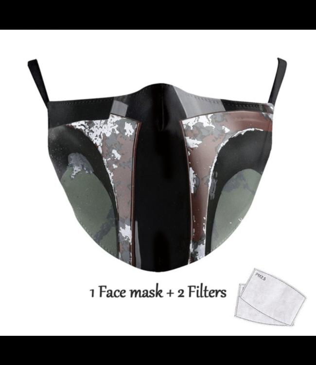 DG Unisex-Gesichtsmaske für Erwachsene - Jango Fett