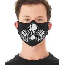 GAS MASK PRINTED FACE MASK