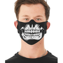Skull Teeth Face Mask