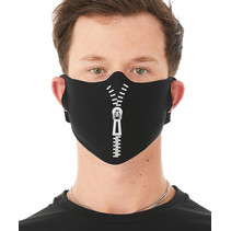 Zip-Up Face Mask