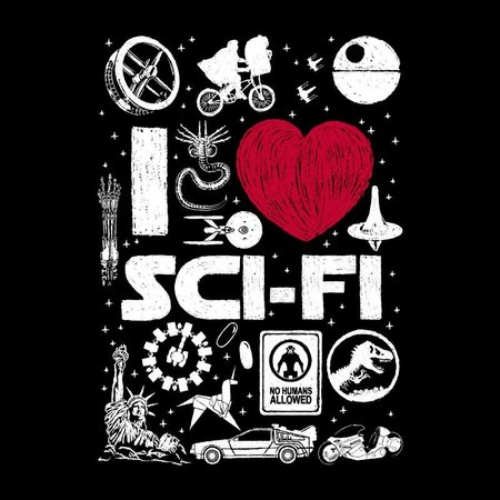 PAMPLING I Love Sci-Fi by Dr.Monekers