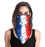 DG Masque facial adulte unisexe - French Triangle Scarf-mask