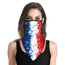 Masque facial adulte unisexe - French Triangle Scarf-mask