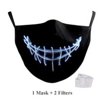 Masque facial adulte unisexe - Masque lavable et réutilisable - Electro Smyle