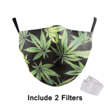 Adult unisex  Face Mask - Amsterdam cannabis