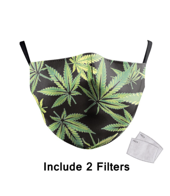 DG Adult unisex  Face Mask - Amsterdam cannabis