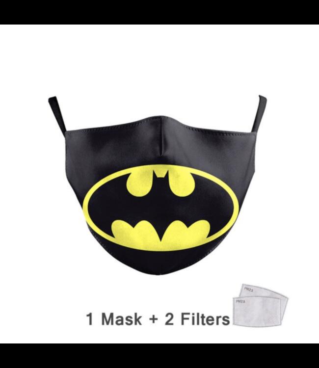 DG Adult unisex  Face Mask - Batman
