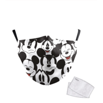 Adult unisex  Face Mask - mickey mouse
