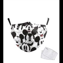 Masque facial adulte unisexe - Masque lavable et réutilisable - mickey mouse