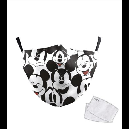 DG Masque facial adulte unisexe - Masque lavable et réutilisable - mickey mouse