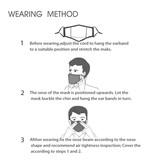 DG Unisex-Gesichtsmaske für Erwachsene - Dinos