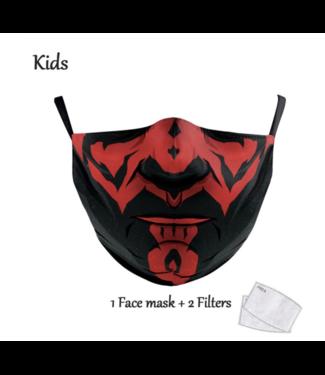 DG Gesichtsmaske für KINDER - S Darth
