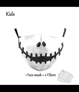 DG Gesichtsmaske für KINDER - The Nightmare Before Christmas